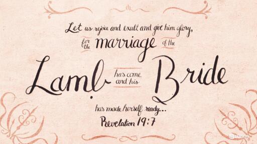 Revelation 19:7 (ESV) -