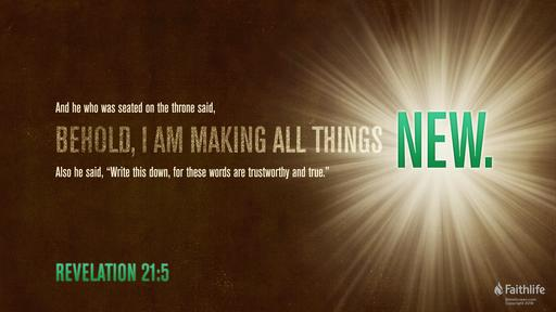 Revelations 21 5 Revelation 21 5