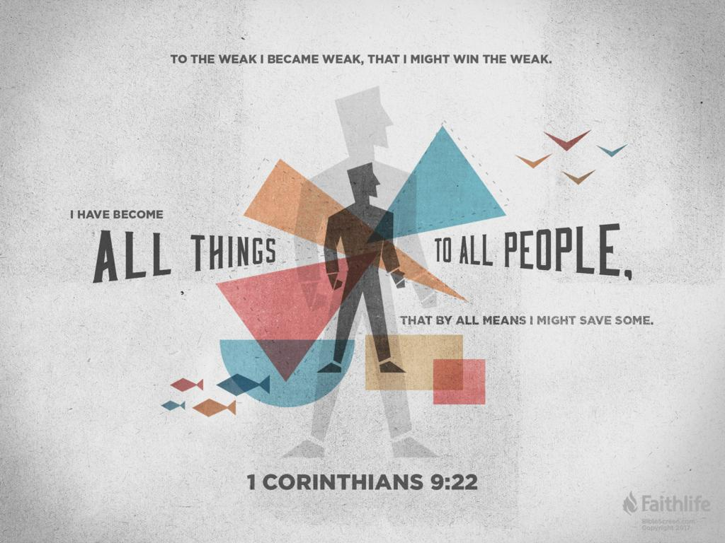 Image result for 1 corinthians 9