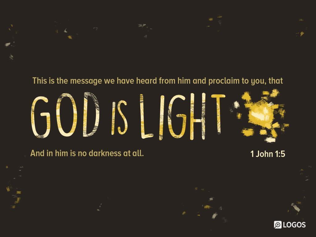 1 John 1:5 KJV 1900 - This then is the… | Biblia