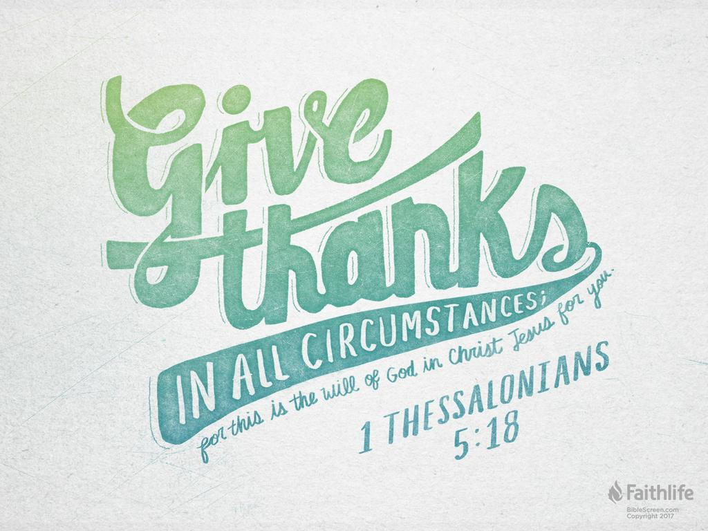 Image result for 1 thessalonians 5 18