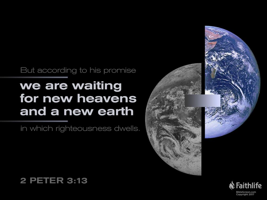 Verse of the Day: 2 Peter 3:13