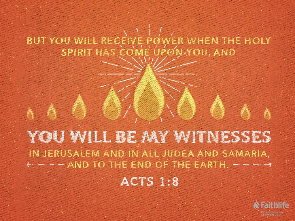 Acts 1:8 NKJV - But you shall receive power… | Biblia