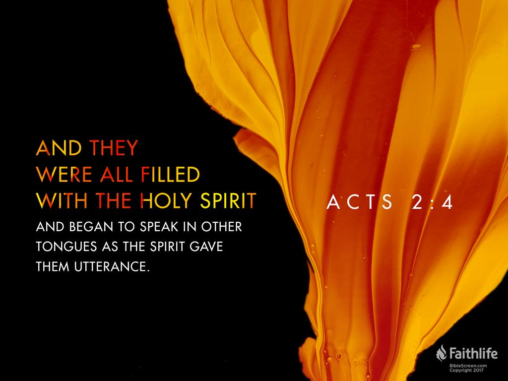 Acts 2:1–6 NKJV - When the Day of Pentecost… | Biblia