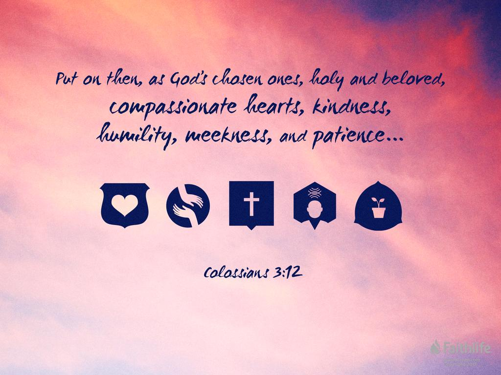 Colossians 3:12–17