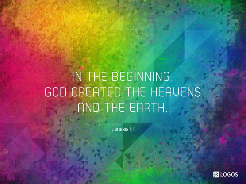 Genesis 1:1–31 ESV - In the beginning, God… | Biblia