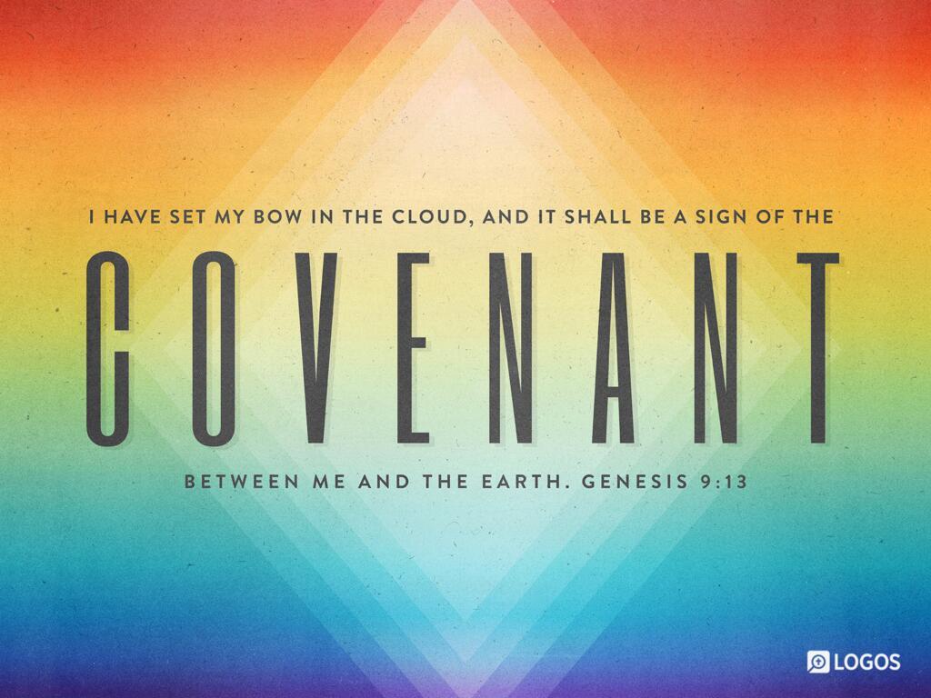"Genesis 9:12–15 ESV - And God said, ""This is… | Biblia"