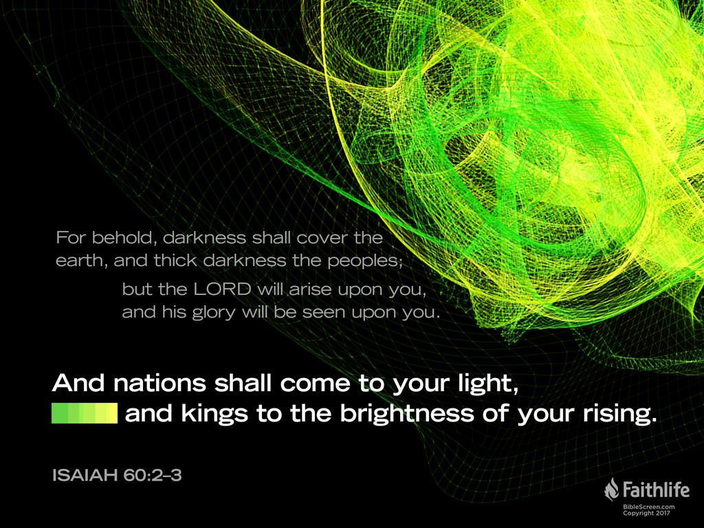 Isaiah 60:3 ESV - And nations shall come to… | Biblia
