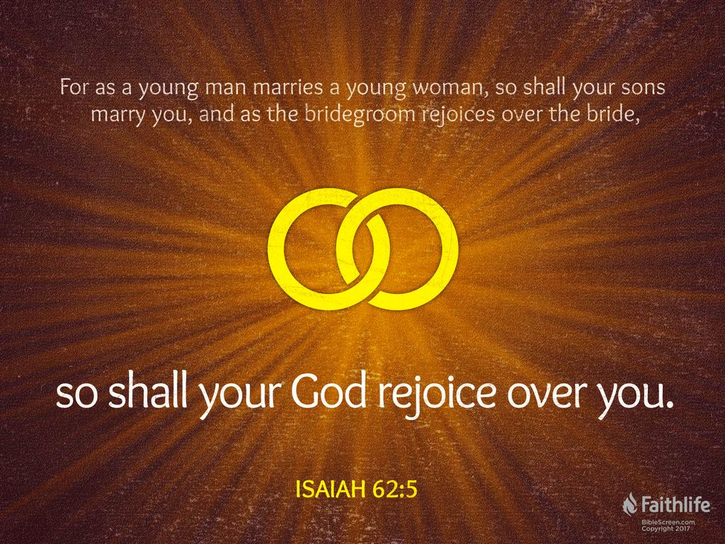 Image result for Isaiah 62:5 KJV
