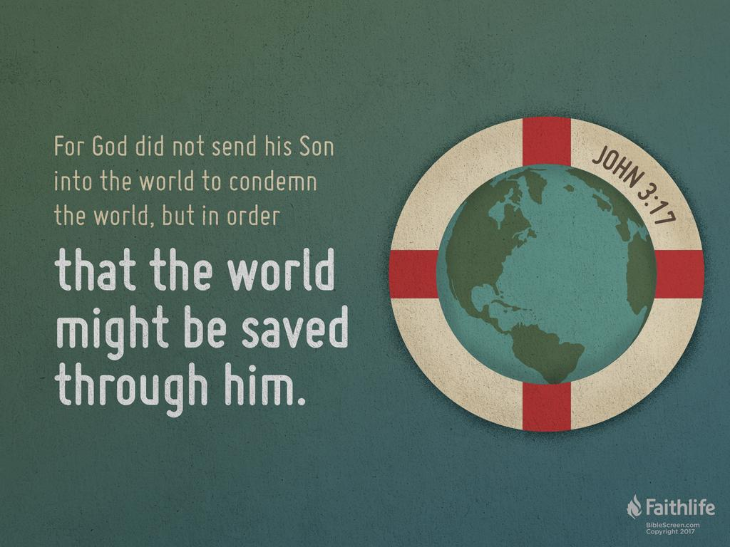 Verse of the Day: John 3:17