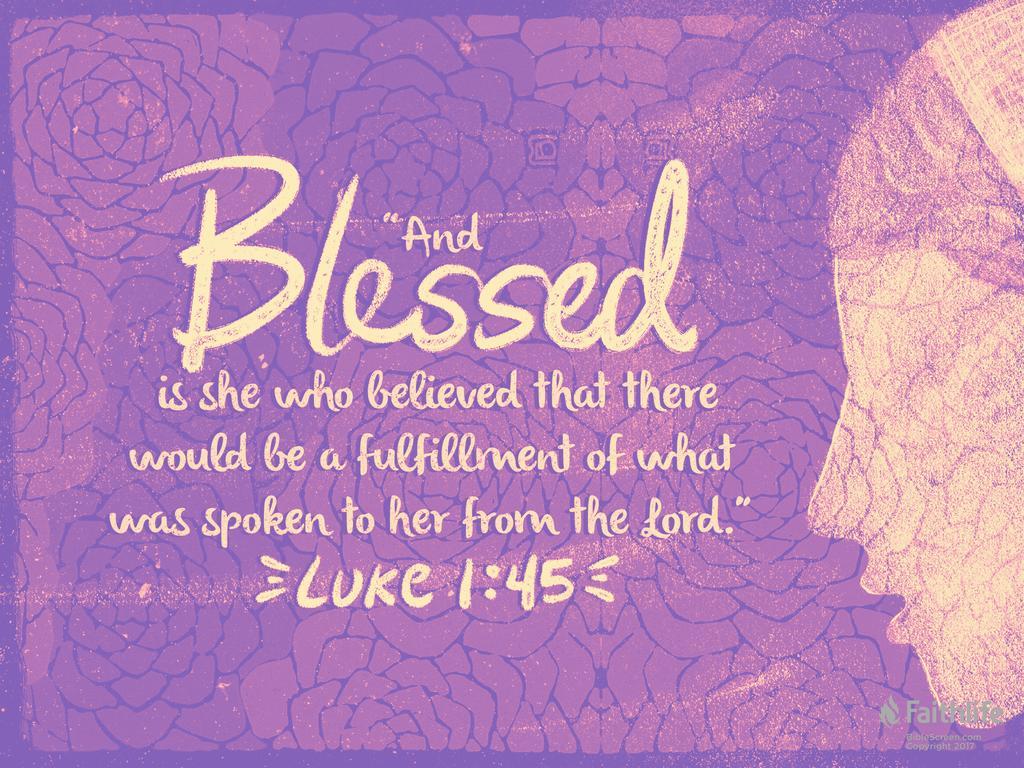 Luke 1:39–56 ESV - In those days Mary arose… | Biblia