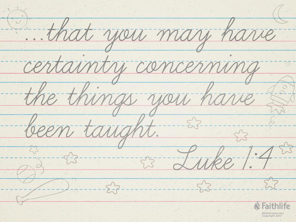 Luke 1:1–4 NKJV - Inasmuch as many have taken… | Biblia
