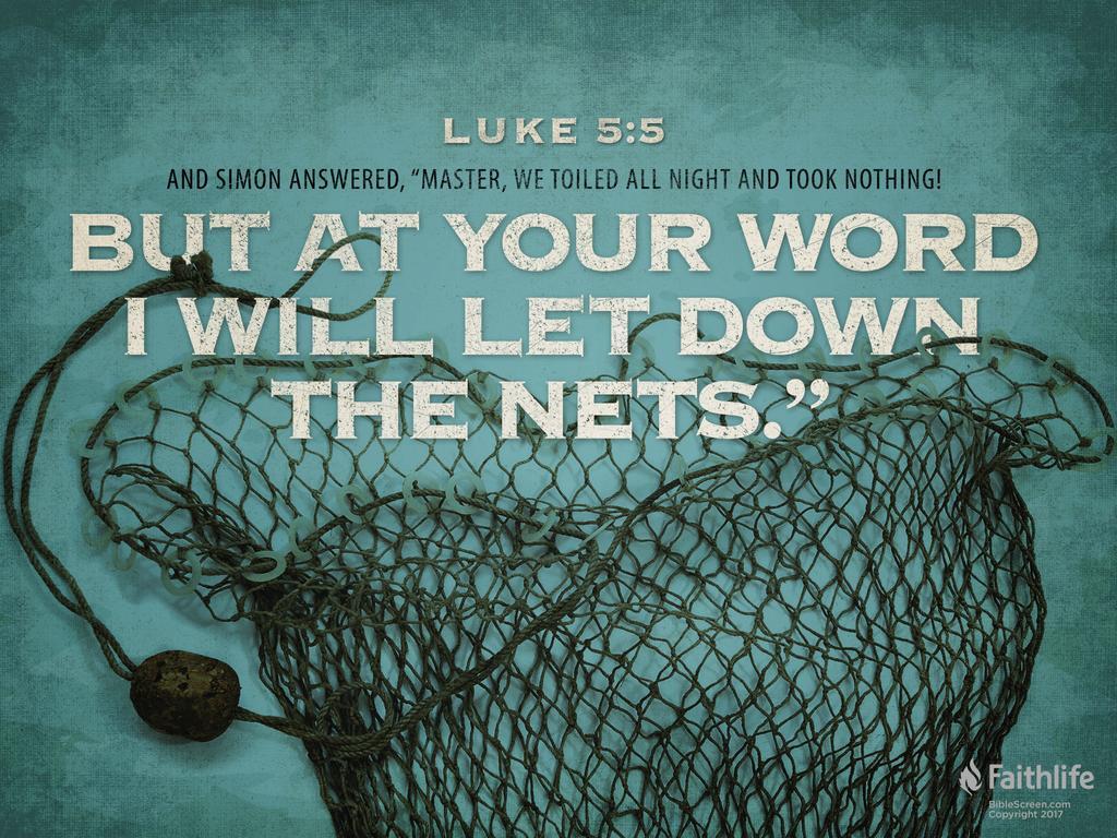 Luke 5:1–11 CSB - As the crowd was pressing…   Biblia