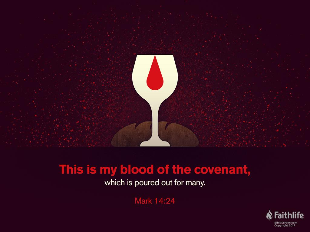Mark 14:22–24 ESV - And as they were eating,… | Biblia