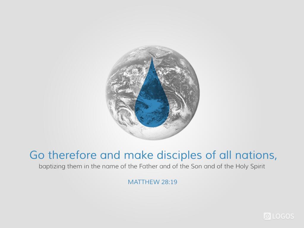 Matthew 28:19–20 KJV 1900 - Go ye therefore,… | Biblia