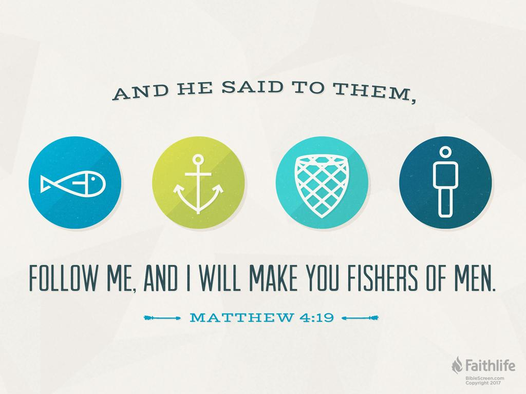 Verse of the Day: Matthew 4:19