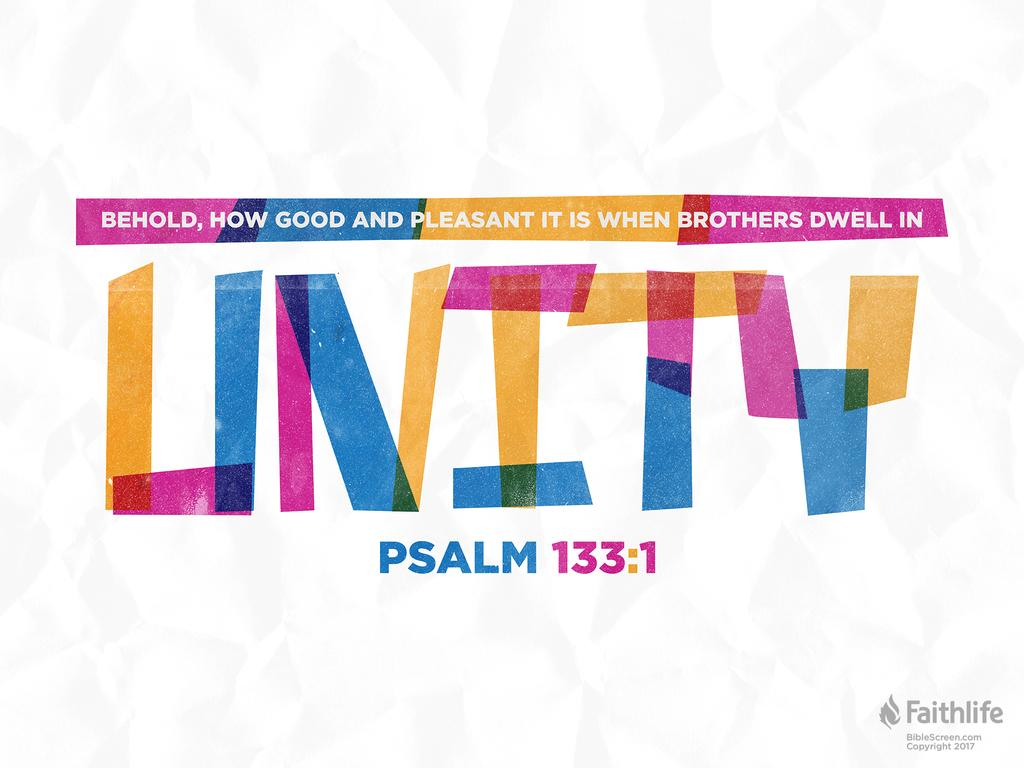 Verse of the Day: Psalm 133:1