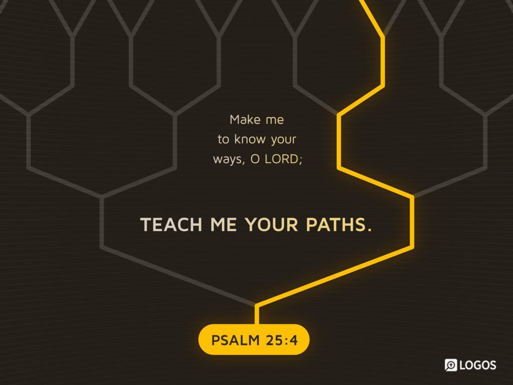 Psalm 25 NIV - Of David  In you,… | Biblia