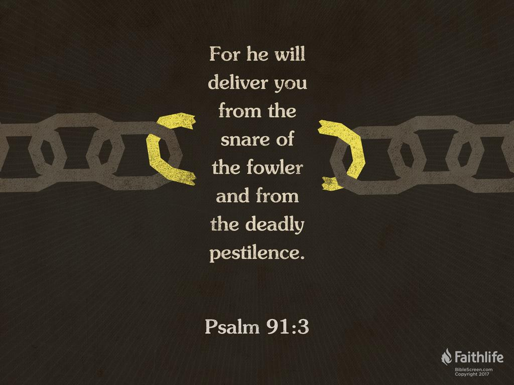 Psalm 91 NIV - Whoever dwells in the shelter…   Biblia