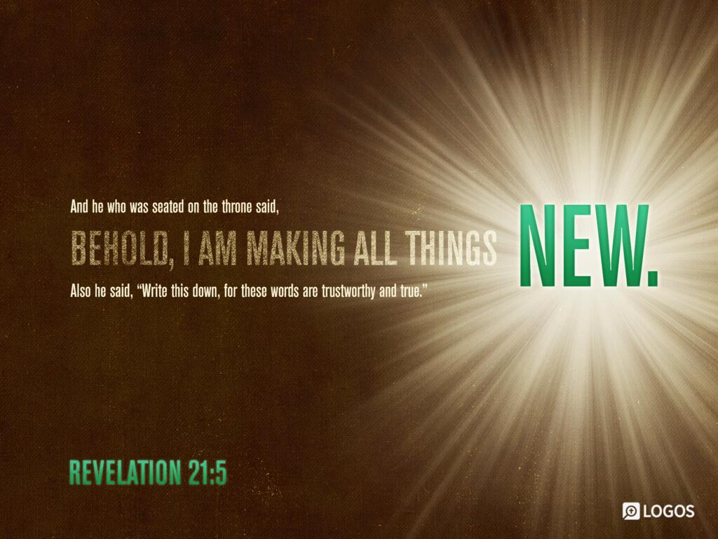 Revelation 21:5 NKJV - Then He who sat on the… | Biblia