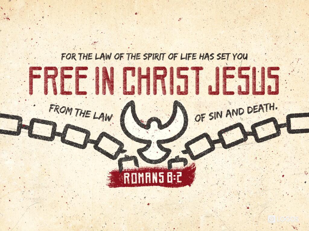 Romans 8:2 NKJV - For the law of the Spirit… | Biblia
