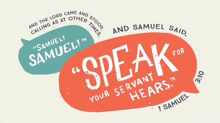1 Samuel 3:1–21 NKJV - Now the boy Samuel… | Biblia