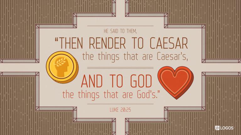 Luke 20:25