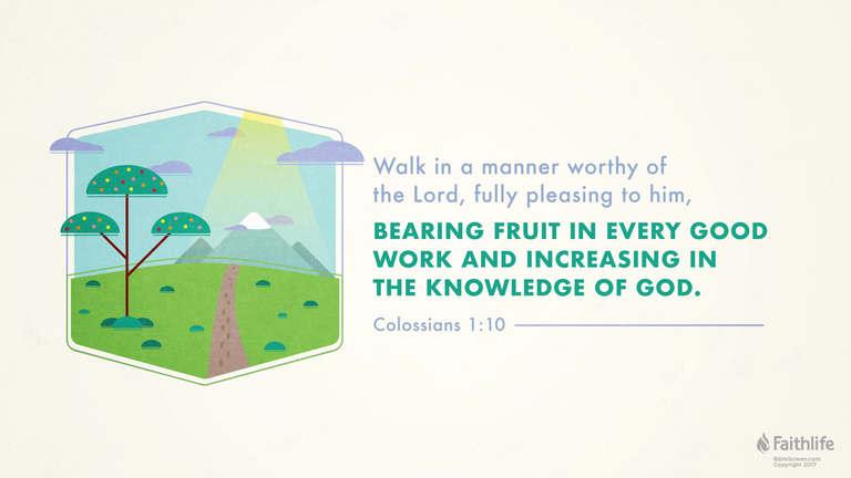 Colossians 1:10