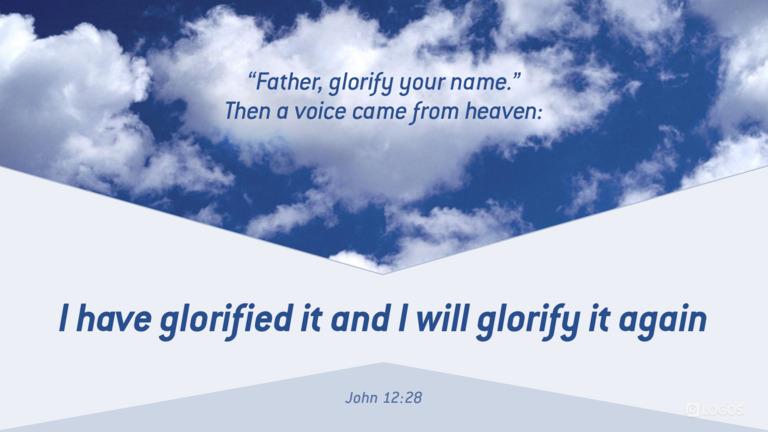 John 12:28