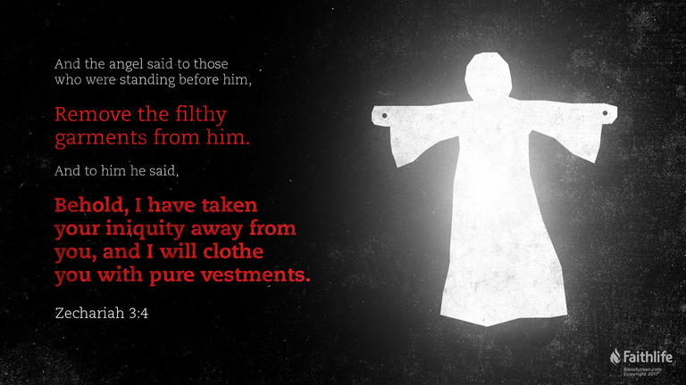 Zechariah 3:4
