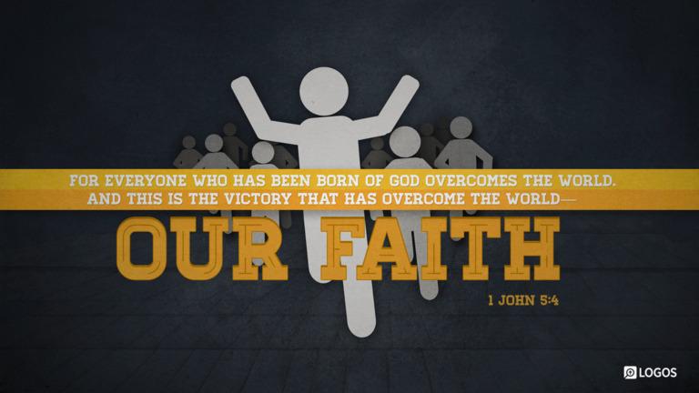 1 John 5:4