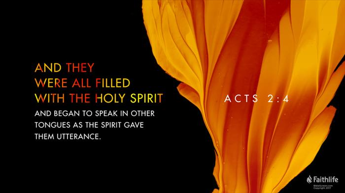 Acts 2:1–4 NKJV - When the Day of Pentecost… | Biblia