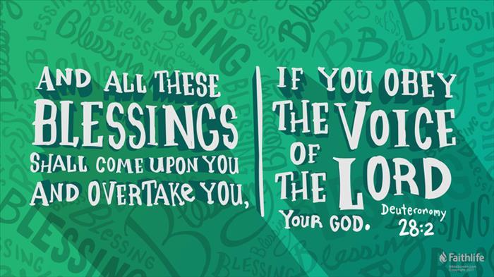 Set The Table Book Deuteronomy 28:1–14