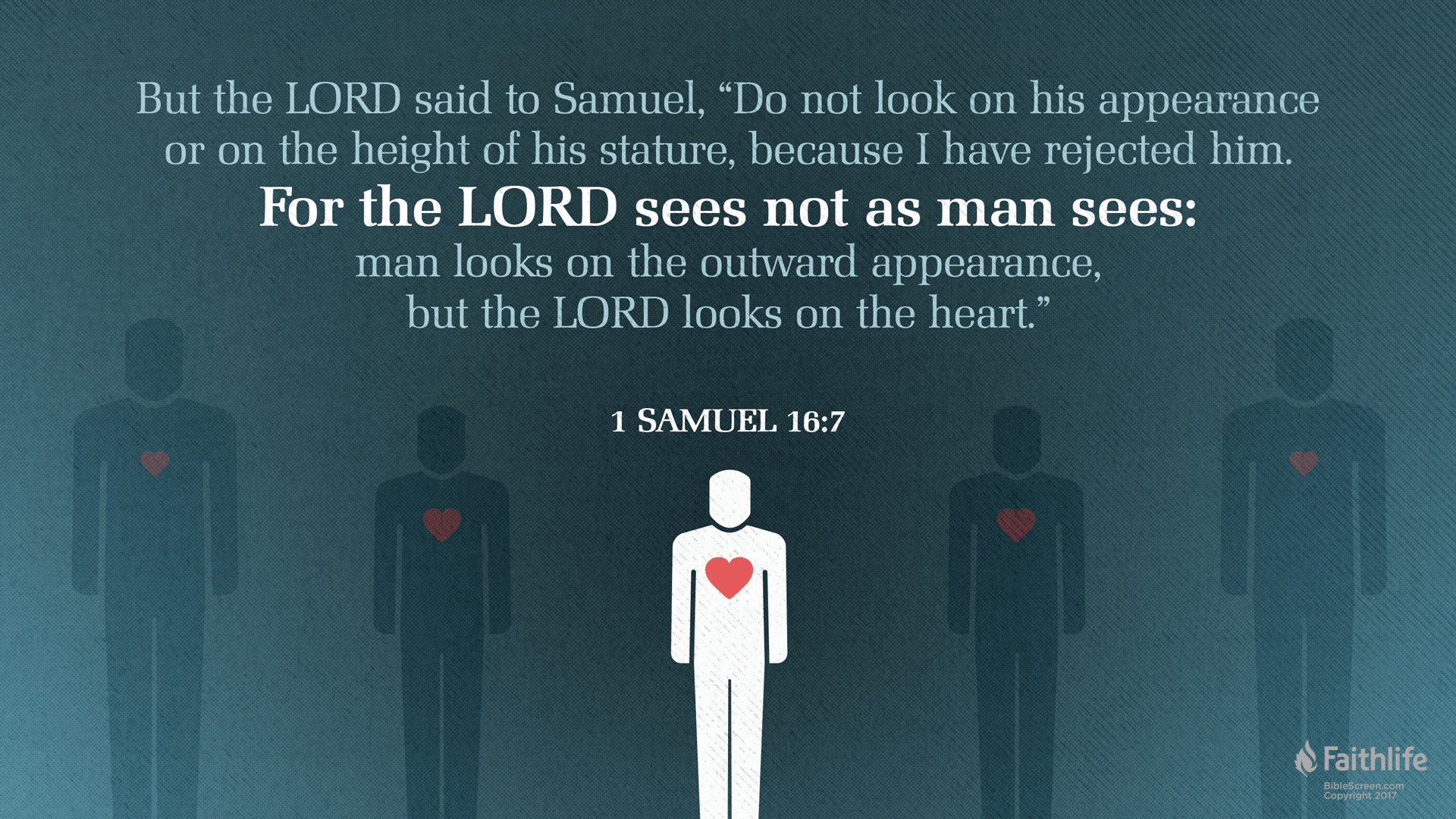 Image result for 1 samuel 16 7