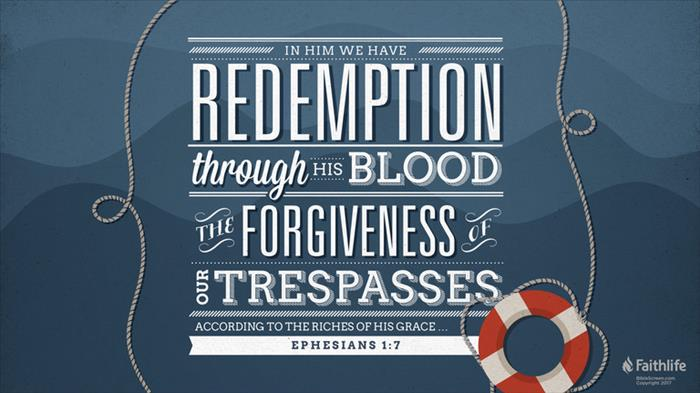 Ephesians 1 7