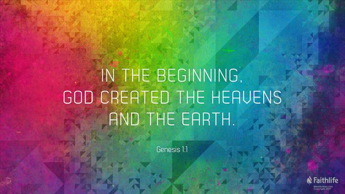 Genesis 1:1–31 (ESV) - Genesis 1:1–31 ESV - In the beginning