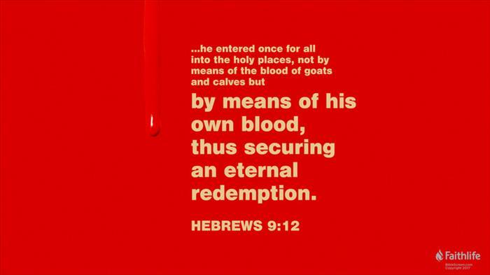 Hebrews 9:11–28 (ESV) - Hebrews 9:11–28 ESV - But when