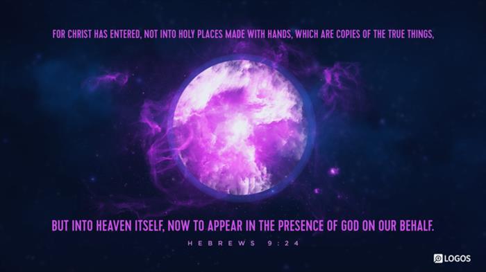 Hebrews 9:24–28 (ESV) - Hebrews 9:24–28 ESV - For Christ has