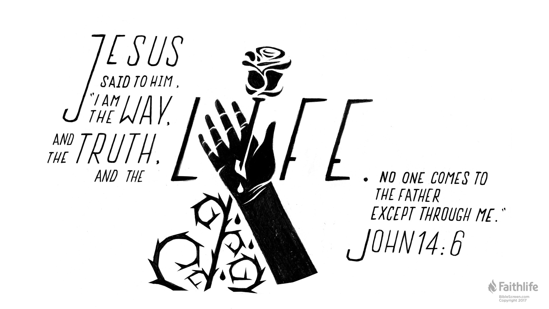 John 14:6 Graphic