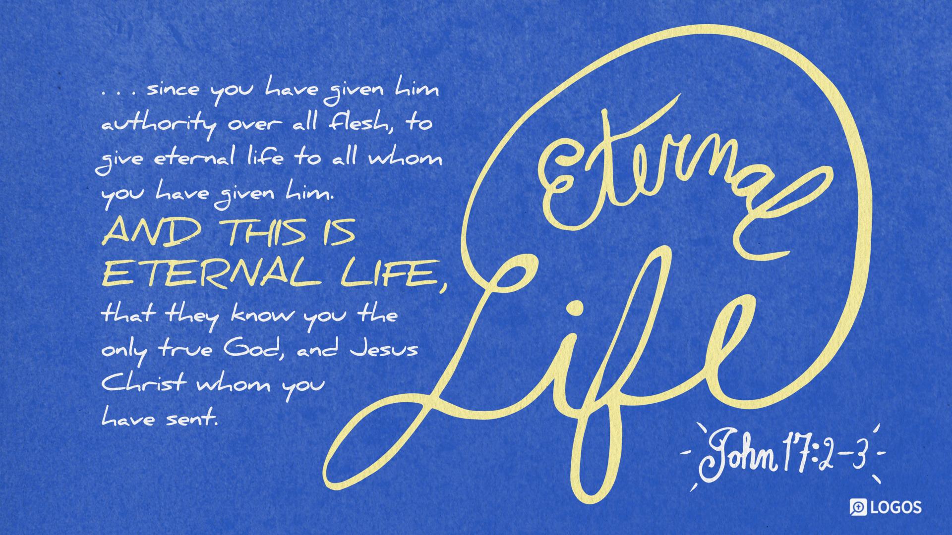 John 17:2 (ESV) - Biblia com