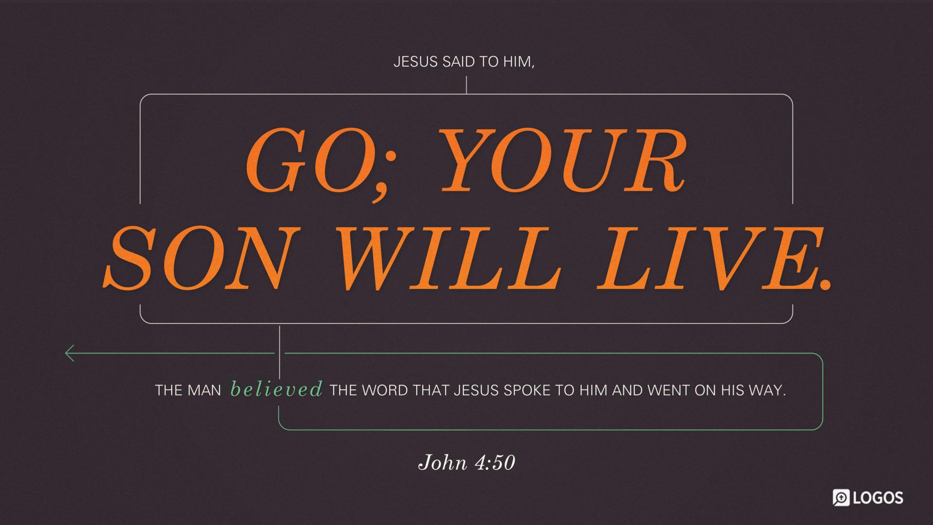 John 4:50