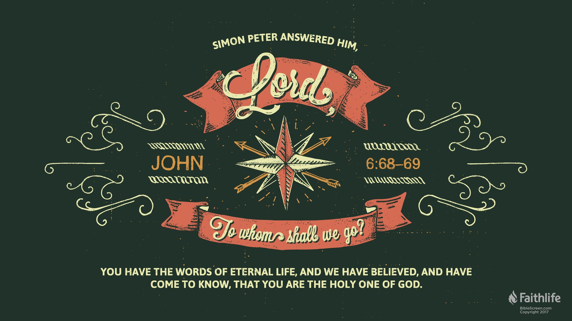 John 6 69 ESV Biblia