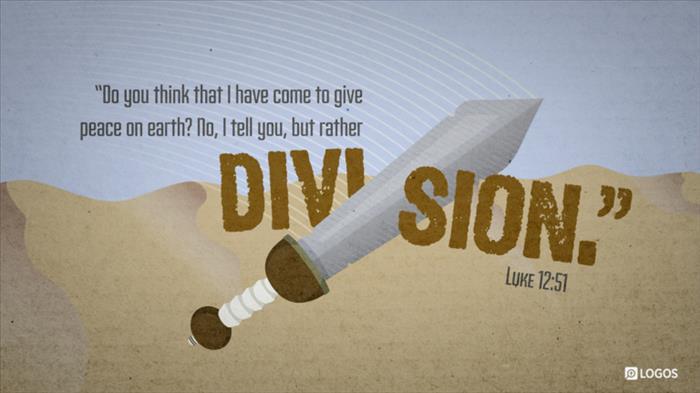 """Luke 12:49–53 (ESV) - Luke 12:49–53 ESV - """"I came to cast fire on…   Biblia"""