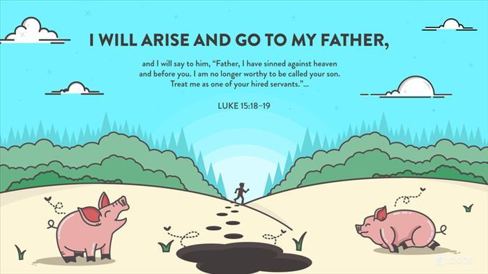 "Luke 15:11–32 NIV - Jesus continued: ""There… | Biblia"