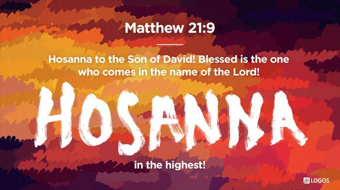 Matthew 21:1–11 (ESV) - Matthew 21:1–11 ESV - Now when they