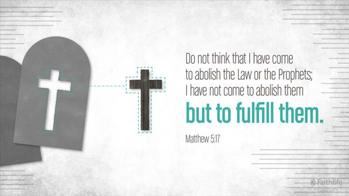 Image result for matthew 5:17