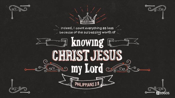 Philippians 3 8