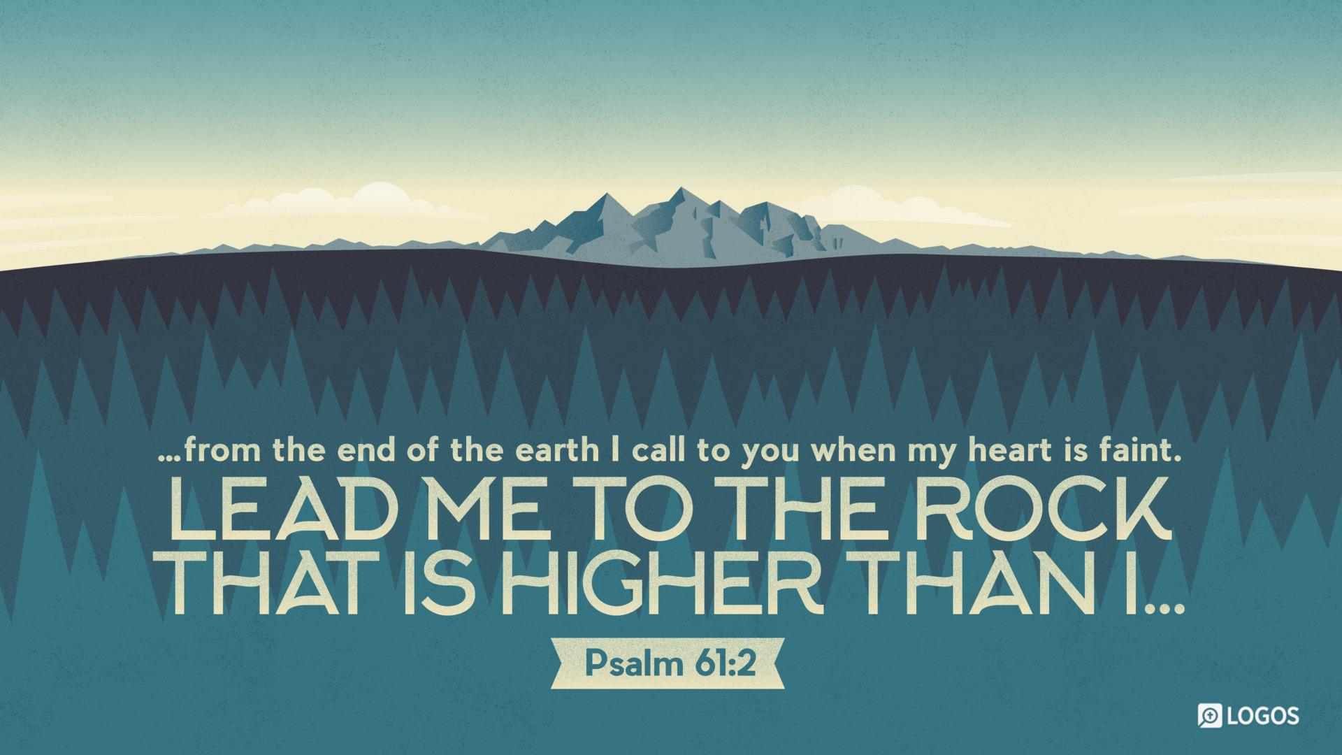 Psalm 61:2 (ESV) - Biblia.com