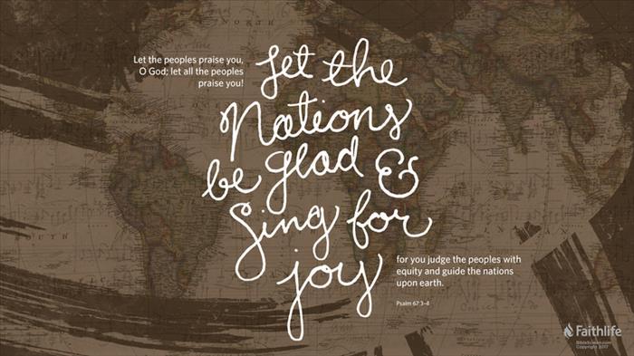 Psalm 67:1–7