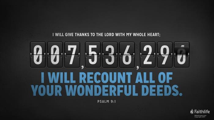 Psalm 9:1–2 (NKJV) - Psalm 9:1–2 NKJV - I will praise You, O